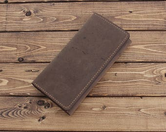 Sleeve Wallet for iPhone / Galaxy / Nexus / Pixel / Oppo /  HTC / Lenovo / Xperia / MotoZ /  OnePlus in Rustic Distressed BROWN Leather