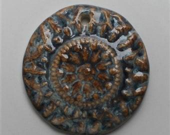 Handcrafted Ceramic Pendant PEN130814