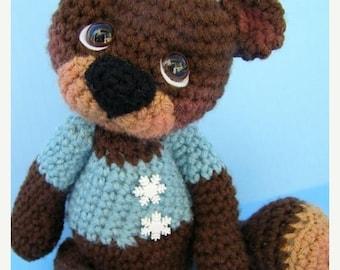 Summer Sale Crochet Pattern Cute Teddy Bear by Teri Crews instant download PDF format Crochet Toy Pattern