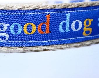 Good Dog Collar, Colorful Dog Collar, Adjustable Dog Collar, Dog Collar, Leash and Collar Set