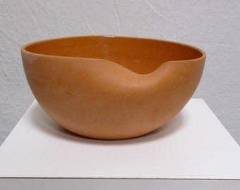 Elsa PERETTI Tiffany Italy Terracotta Terra Cotta Thumb Print Modernist Bowl Italian Platter
