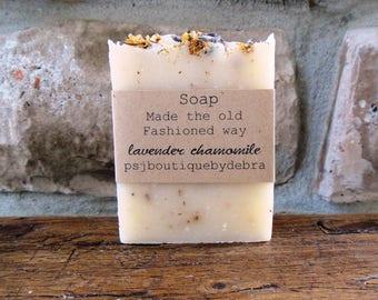 SOAP for Shower Favors - Lavender Chamomile - Handmade soaps - Bulk Soap- Favors - Soap Favor - Soap Favors - Bridal Shower Favors