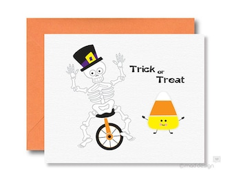 Halloween Card / Trick or Treat