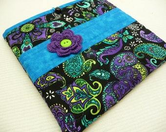 MINI MISTI Sleeve - Purple Paisley