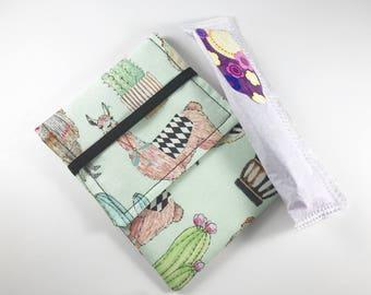 Tampon Case, Tampon Holder, Tampon Wallet - Lovely Llama