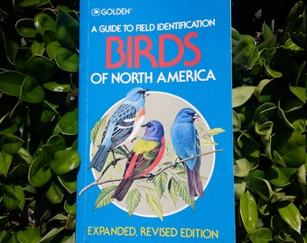 Softcover Illustrated Golden Guide to Birds of North America