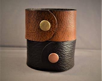 Cuff Bracelet-Leather Cuff Bracelet-Women's Leather Bracelet-Leather Cuff Women-Men's Bracelet-Leather Cuff Men-Gifts For him-Gifts For Her