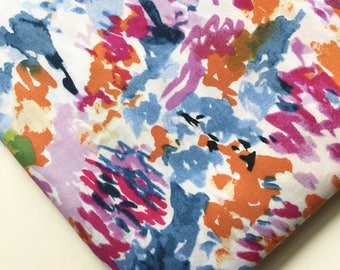 Color Brush Strokes Fabric, Ramble and Roost Fabric, OOP, HTF