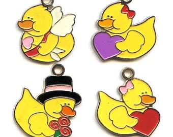 Valentine Duck Charms
