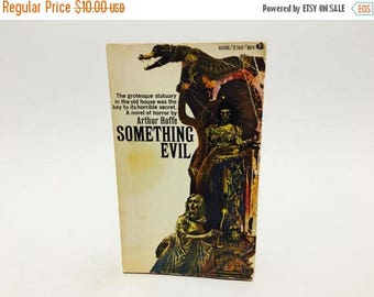 SUMMER BLOWOUT Vintage Gothic Romance Book Something Evil by Arthur Hoffe 1968 Paperback