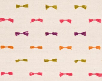 Bow Tie Designer Pillow Cover - Square, Euro and Lumbar Sizes