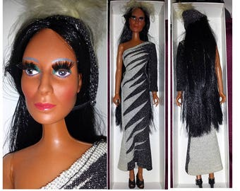 Vintage Cher Dolls & clothes Electric Feathers, Herkey Jerky, Half and Half, Genie pant Choice (includes shipping in the US)