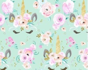 Unicorn Bedding, Baby Girl Crib Sheet, Changing Pad Cover, Minky Blanket, Toddler Girl Bedding, Custom Bedding Set, Personalized Blanket