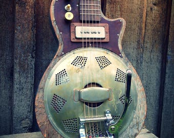 Kochel Guitars Electric Resonator with Bigsby