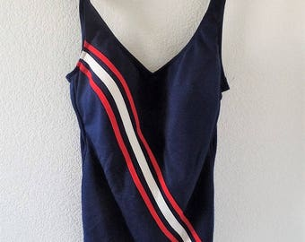 Vintage Swimsuit One piece Lee Beachwear by Robby Len