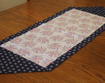 Fourth of July Reversible Table Runner