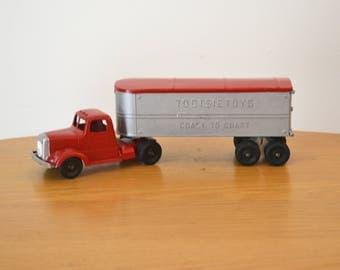 Vintage Tootsietoys Coast to Coast Tractor Trailer Toy Truck