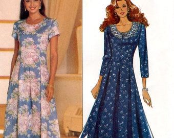 Butterick 6575 Sewing Pattern for Misses' Dress - Uncut - Size 6, 8, 10