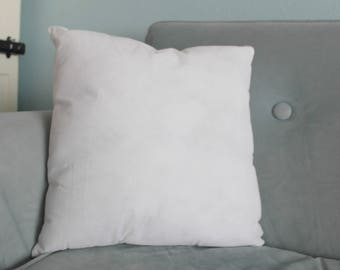 Throw Pillow Insert 16x16 Square