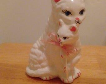 Vintage Cat Figurine