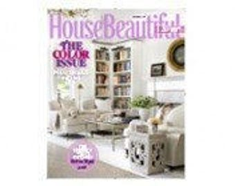 House Beautiful 2-Year Magazine Subscription (20 Issues)