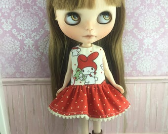 Blythe Drop Waist Dress - My Melody