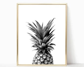 SALE -50% Pineapple Digital Print Instant Art INSTANT DOWNLOAD Printable Wall Decor