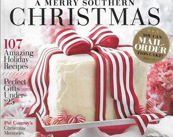 Southern Living Magazine Back Issue December 2014 Special Double Issue Christmas
