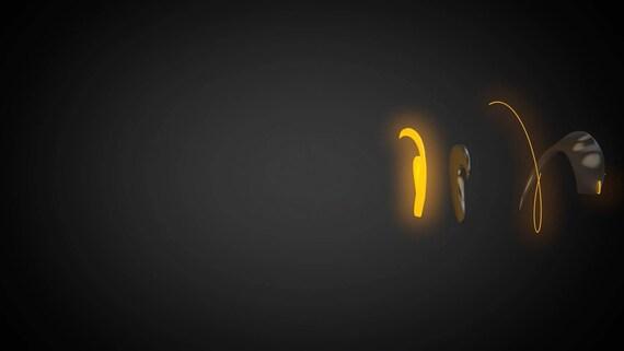 Custom Animated Logo - Logo in Spiral