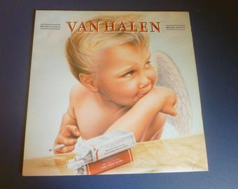 Van Halen 1984 Vinyl Record LP 23985-1 Warner Bros. Records 1984