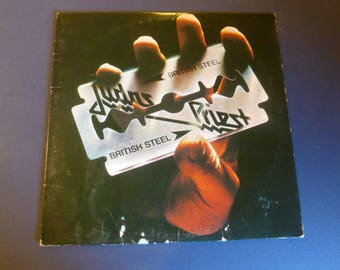 Judas Priest British Steel Vinyl Record LP JC 36443 Columbia Records 1980