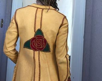 70's Vintage North Beach Hippie Rock Star Jacket sm. XS