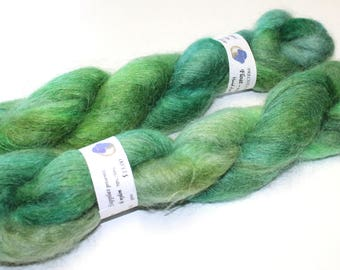 Float kid mohair laceweight brushed  yarn