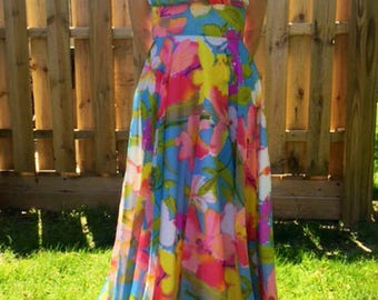 Floral Vintage Formal Dress