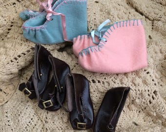 Booties & Buckles Vintage Doll Shoes