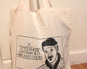 Game Of Thrones Littlefinger Dr Dre Parody Black And White Tote Bag Little Finger Aint But Hoes And Tricks