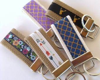 Keychains for Women- Womens Wristlet Key Fob- Womens Gift for Her Under 10- Grad Gift for Her- Womens Key Chain- Mothers Day Gifts for Women