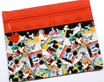 Gee Whiz Mickey Cross Stitch Embroidery Project Bag