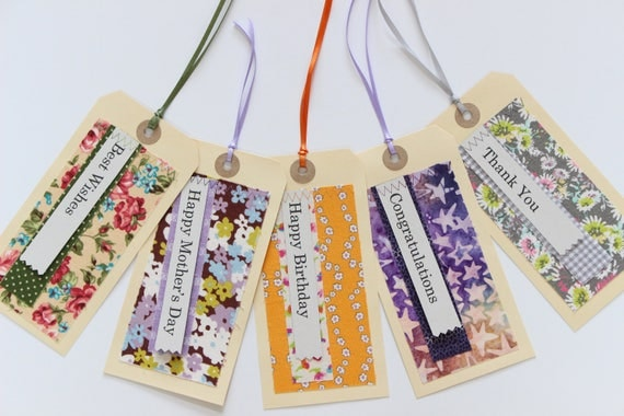 Gift Tag Set | Handmade Message Tags