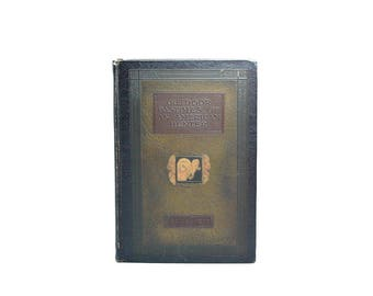1923 Pres Theodore Roosevelt Outdoor Pastimes Of American Hunter Historical Wild West America 26th President Hobbies Early 20th Century