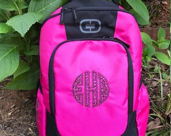 Monogrammed OGIO Backpack ~ Monogrammed Middle School or High School Backpack - Back to School - NEW ITEM
