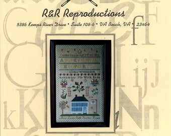 R & R Reproductions: Ohio Friends Sampler (OOP) - Cross Stitch Pattern