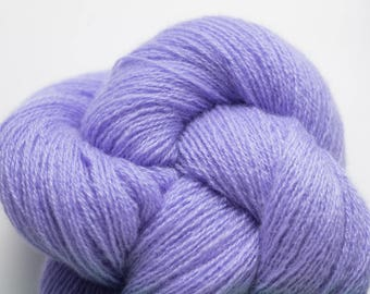 Lilac Recycled Cashmere Lace Weight Yarn, CSH00282