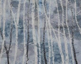 McKenna Ryan Fabric, Tree Fabric, Christmas Fabric, By The Yard, Robert Kaufman, Quilting Fabric, Sewing Apparel Fabric, Winter Fabric