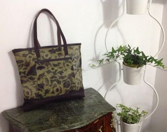 Camouflage shopping Tote