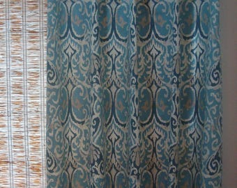 blue ikat curtains ikat curtain panels blue ikat curtains 52x6352x108
