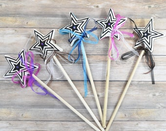 Princess Wand, bridesmaid gift, pretend play, party favor, fairy birthday gift, princess birthday gift, girl gift, magic wand, gift for girl