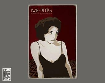 Twin Peaks - Audrey Horne Movie Poster - David Lynch