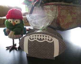 Football Shaped Favor Bags Set of 12 with Free Shipping