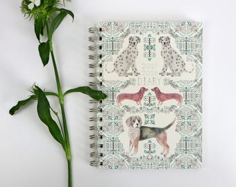 Dogs A5 Diary 2017/2018